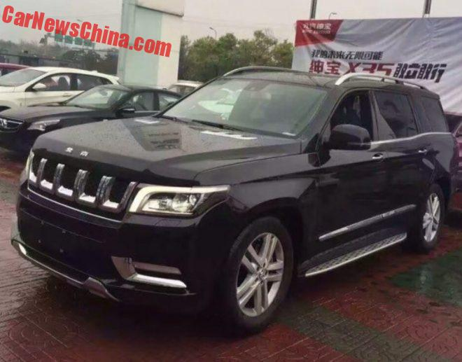 Beijing Auto BJ90 Is Really Ready For The Chinese Car Market