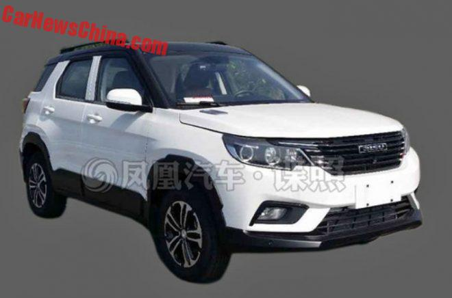 New Photos Of The Bisu S25 SUV From China