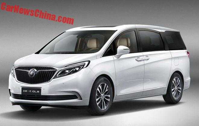 This Is The New Buick GL8 For China