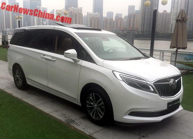 New Buick GL8 Is Naked From All Sides In China