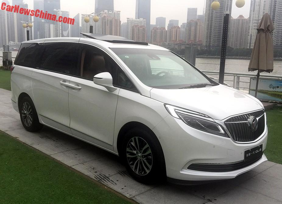 new buick gl8 is naked from all sides in china. Black Bedroom Furniture Sets. Home Design Ideas