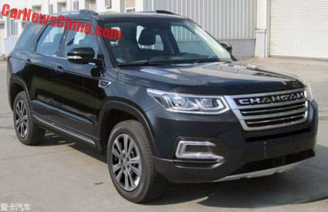 This Is The Changan CS95 SUV For China