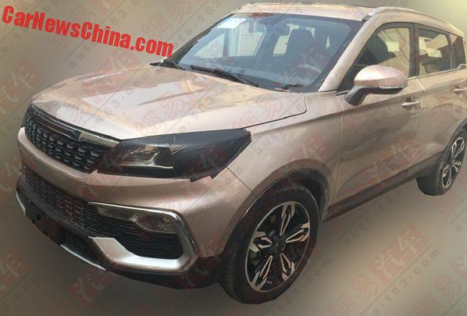 Changfeng Liebao CS9 SUV Is Almost Ready For China