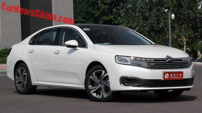 Citroen C6 Hits The Chinese Car Market