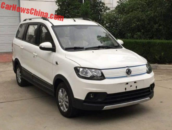 This Is The New Dongfeng Xiaokang Fengguang 360 EV Mini MPV