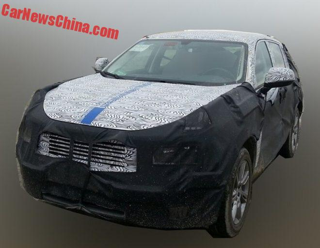 First Spy Shot Of The Geely LYNK & CO CX11 SUV