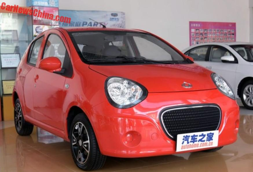 The Geely Panda Is Dead Long Live The Geely Emgrand Mini
