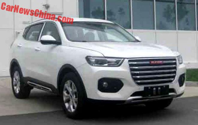 This Is The Haval F6 SUV For China, In Red Label And Blue Label