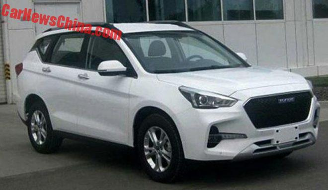 Spy Shots: Haval F6 Is A Different Haval H6