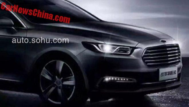 Clone Country: Hawtai Goes For The Ford Taurus In China
