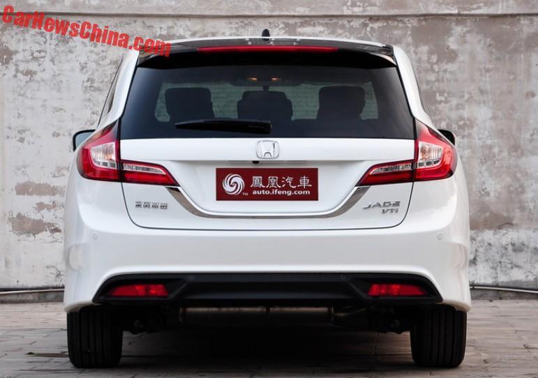 Spy Shots: Facelift For The Honda Jade MPV In China - CarNewsChina.com