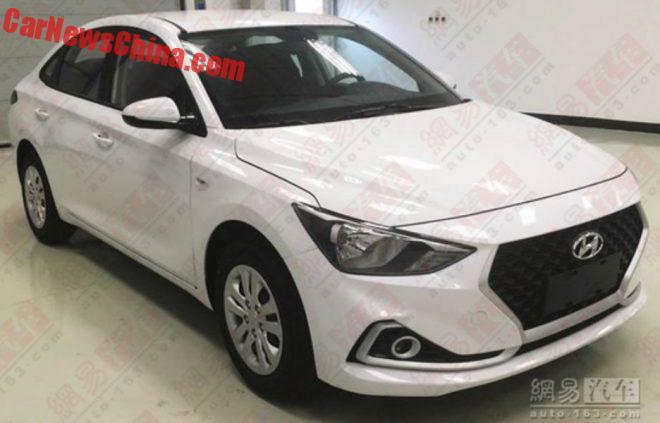 Spy Shots: The New Hyundai Celesta Sedan For China