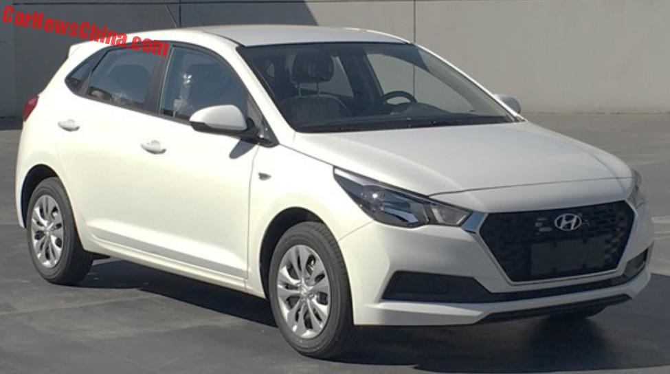 This Is The New Hyundai Verna Hatchback For Chinese Auto Market