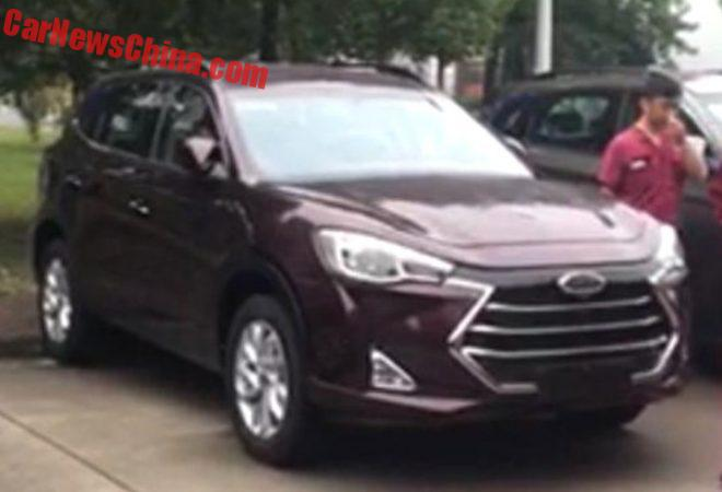 This Is The New JAC Refine S7 SUV For China
