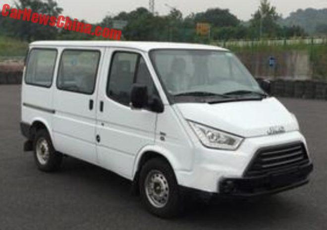 JMC Is Going Stormtrooper With New-Old Mini Van