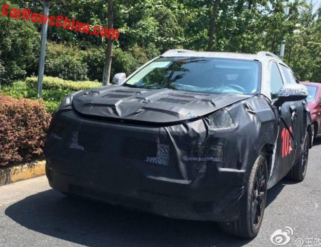 New Spy Shots Of The Geely Lynk & Co CX11 SUV