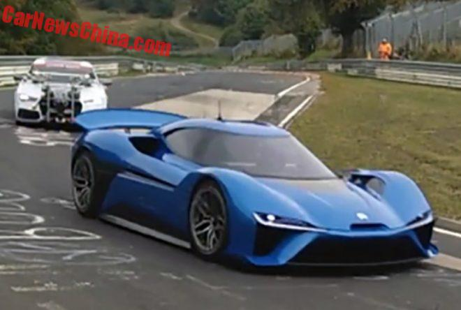 NEXTEV Electric Supercar From China Spied Testing On The Nürburgring
