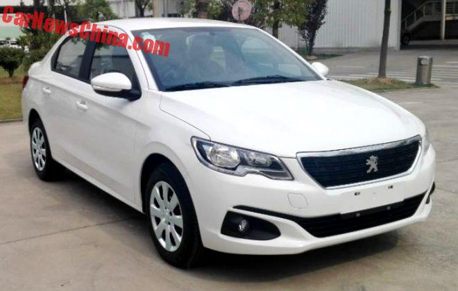 Facelift For The Peugeot 301 in China