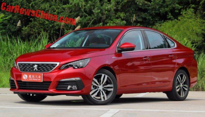 Peugeot 308 Sedan Launched On The Chinese Auto Market