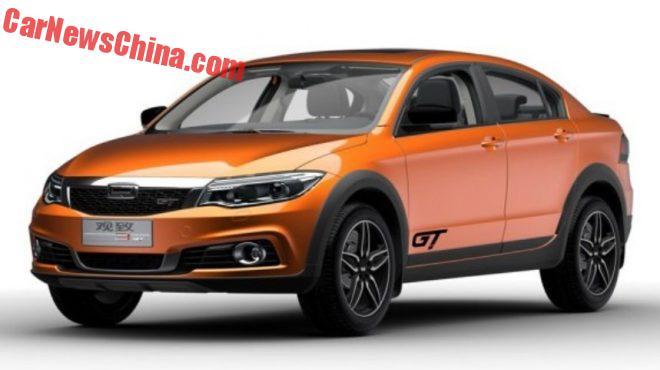 Official Photos Of The Qoros 3 GT For China