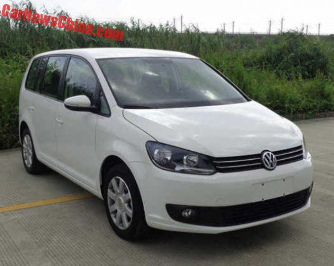 Old Volkswagen Touran To Continue In China