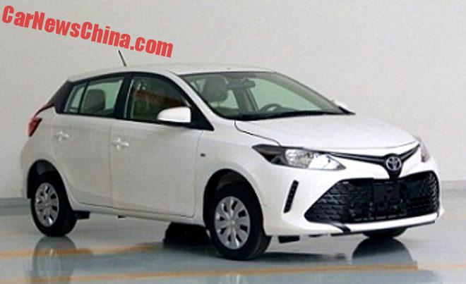 Meet The New Toyota Vios 3 Hatchback For China