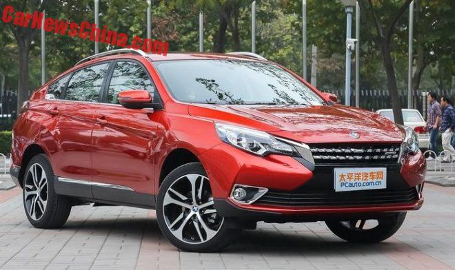 This Is The Venucie T90 For The Chinese Car Market