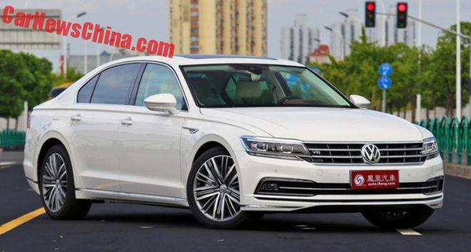 Volkswagen Phideon Launched On The Chinese Auto Market