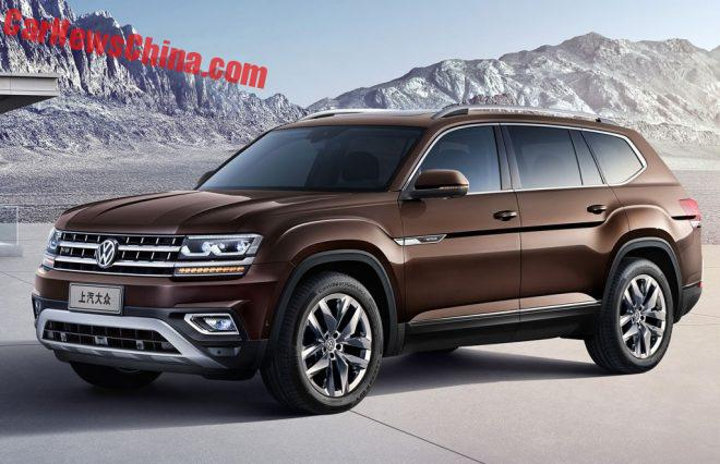 First Official Photos Of The Volkswagen Teramont SUV For China