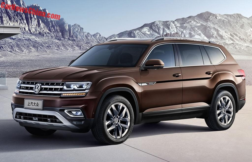 official    volkswagen teramont suv  china carnewschinacom