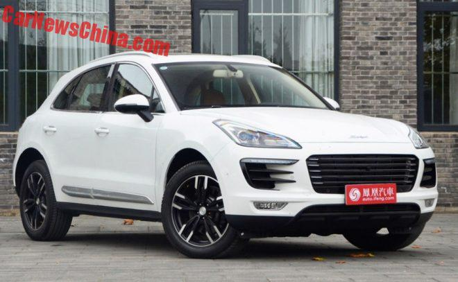 How Much Exactly is the Zotye SR9 A Clone Of The Porsche Macan?