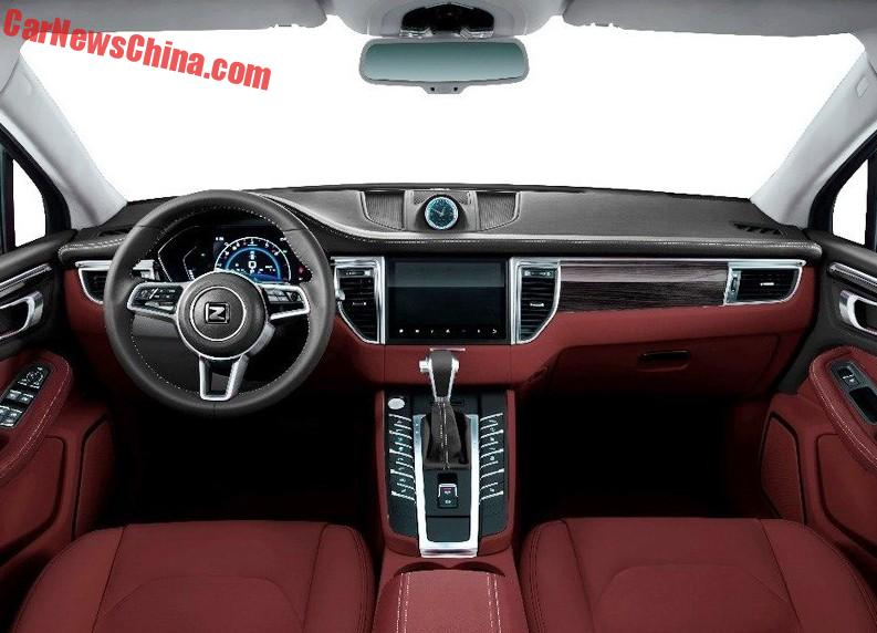 Zotye Sr9 Porsche Macan Clone From China Will Launch On October 12 Carnewschina Com