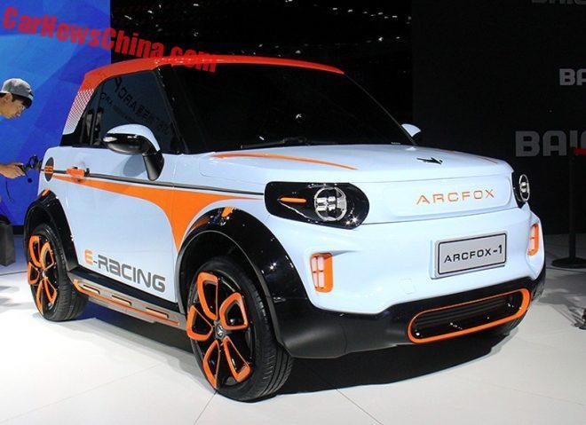 Beijing Auto ArcFox-1 EV Concept Hits The Guangzhou Auto Show