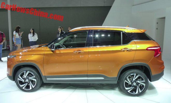 2016 - [CHINE] Guangzhou Auto Show Baojun-510-2-660x398