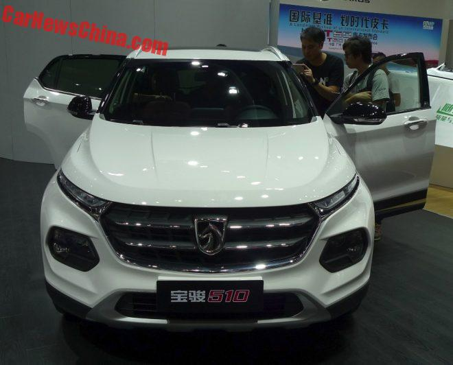 2016 - [CHINE] Guangzhou Auto Show Baojun-510-8-660x532