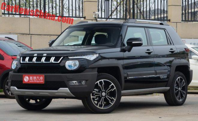 Beijing Auto BJ20 Hits The Chinese Auto Market