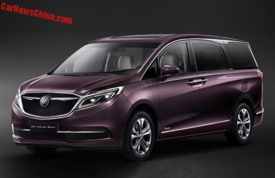 The Buick GL8 Avenir Is A Luxurious MPV For China ...