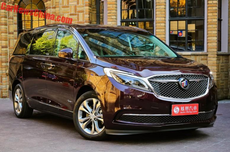 New Buick Gl8 Launched On The Chinese Car Market Carnewschina
