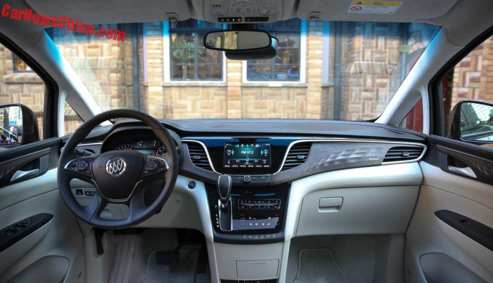 New Buick Gl8 Launched On The Chinese Car Market Carnewschina Com