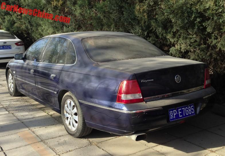 Spotted In China Buick Royaum 36 V6 Carnewschina