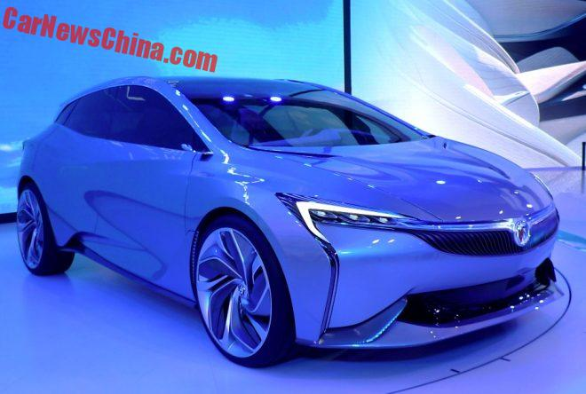 Buick Velite Concept Unveiled On The Guangzhou Auto Show In China