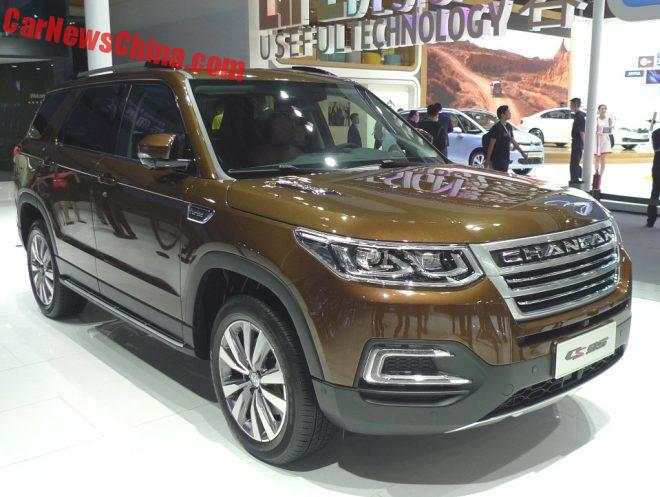 Changan CS95 SUV Debuts On The Guangzhou Auto Show In China
