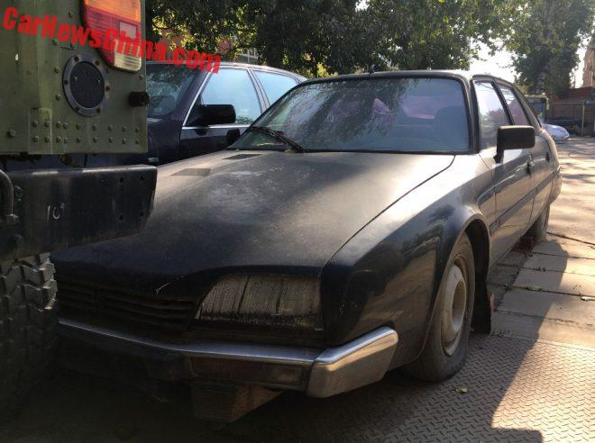 Spotted In China: Citroen CX 20 In Black