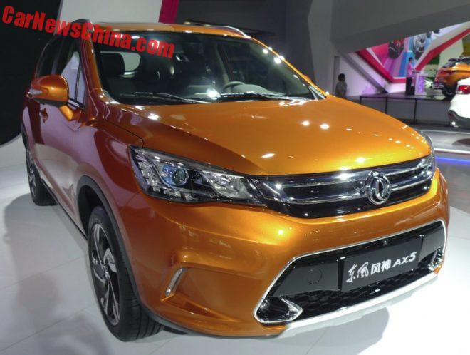 Dongfeng Fengshen AX5 Launched On The Guangzhou Auto Show