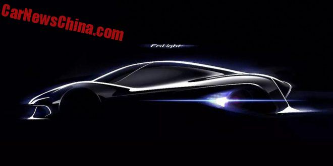 Guangzhou Auto Teases The Enlight Electric Supercar Concept For The Guangzhou Auto Show