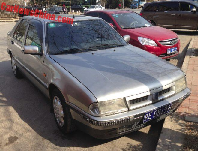 Spotted In China: An Almost Perfect Fiat Croma 2.0 16V