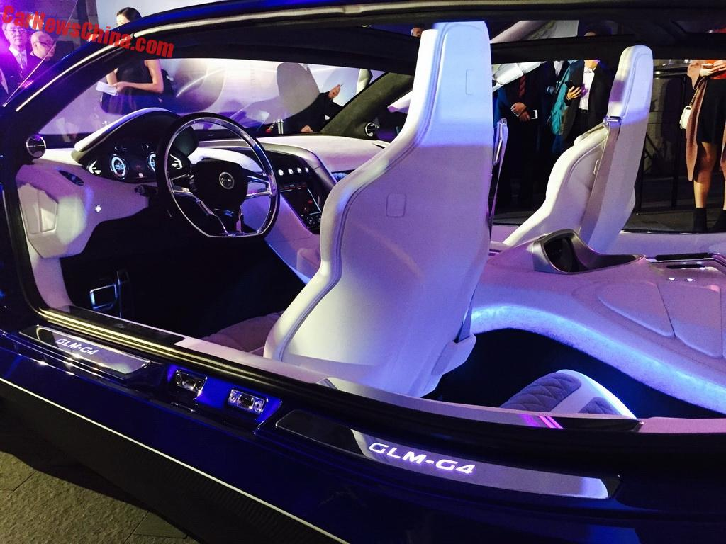 ... opening to the front and to the back, revealing a luxurious and sporty interior. Power is sporty too: it has two electric motors, together good for ...