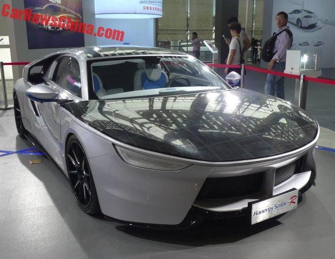 Eye To Eye With The Hanergy Solar-R Solar Powered Car From China