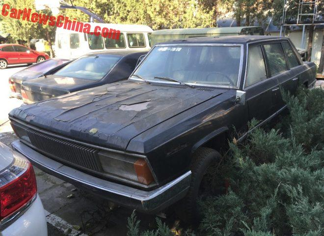 China Car History: The Fourth Prototype Of The Hongqi CA774
