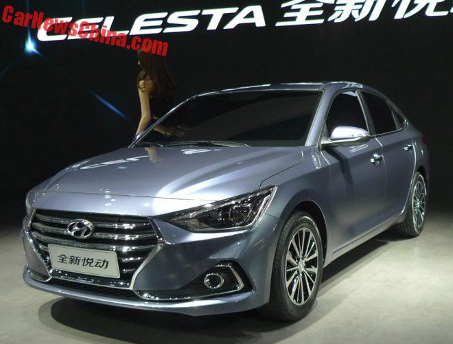 Hyundai Celesta Launched On The Guangzhou Auto Show In China